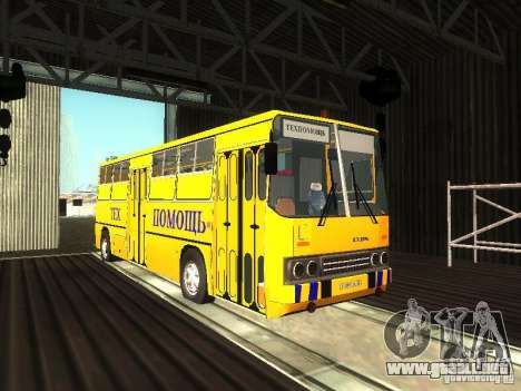 Técnico Ikarus 280 para GTA San Andreas