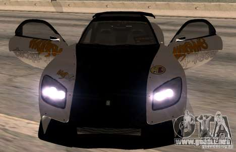 Mazda RX-7 MyGame Drift Team para la visión correcta GTA San Andreas