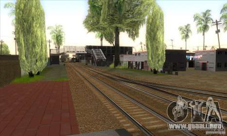 Russian Rail v2.0 para GTA San Andreas sucesivamente de pantalla