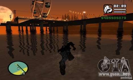 0,075 ENBSeries (agua) para GTA San Andreas novena de pantalla