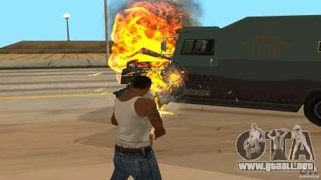 Bono coleccionistas v1.2 para GTA San Andreas segunda pantalla