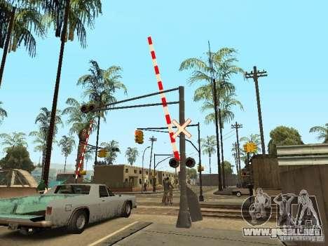 FERROCARRIL cruzando RUS para GTA San Andreas