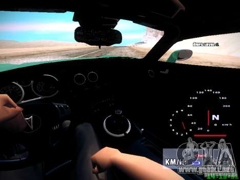 Pontiac Solstice Falken Tire para vista lateral GTA San Andreas