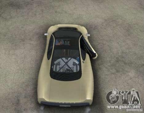 Jaguar XJ 220 Black Rivel para visión interna GTA San Andreas
