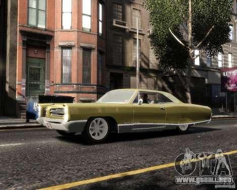 Pontiac Bonneville 1966 para GTA 4 left
