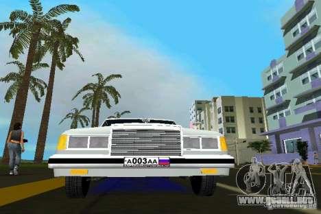 ZIL 41047 para GTA Vice City visión correcta