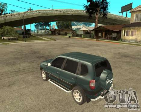NIVA Chevrolet para GTA San Andreas left