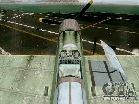 Avión japonés para visión interna GTA San Andreas
