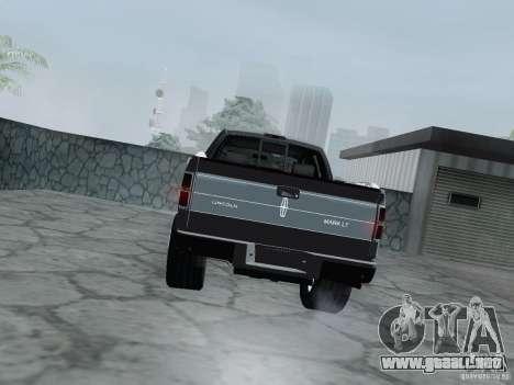 Lincoln Mark LT 2013 para la visión correcta GTA San Andreas