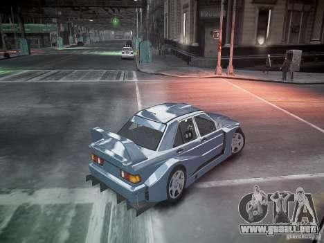 Mercedes 190E Evo2 para GTA 4 interior