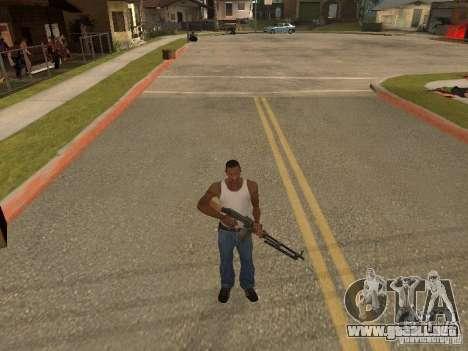 Ametralladora ligera Dâgterëva para GTA San Andreas sexta pantalla