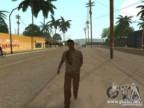 Zombie para GTA San Andreas tercera pantalla
