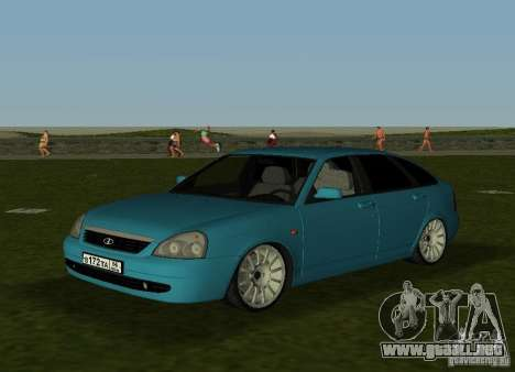 Lada Priora Hatchback v2.0 para GTA Vice City