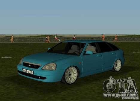 Lada Priora Hatchback v2.0 para GTA Vice City