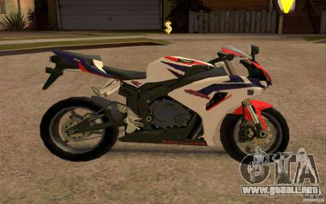 Honda Fireblade 1000RR para la visión correcta GTA San Andreas