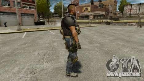 El capitán John «4» Mctavish para GTA 4 segundos de pantalla