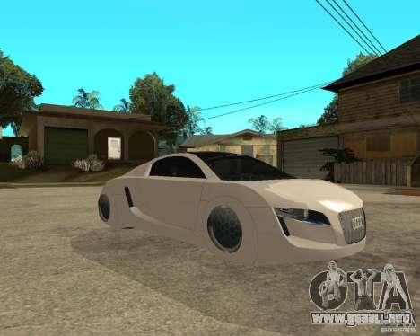 AUDI RSQ concept 2035 para la visión correcta GTA San Andreas