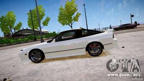 Nissan 240SX Drift para GTA 4 left