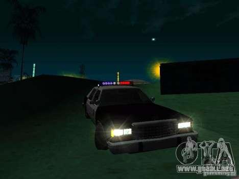 Ford Crown Victoria LTD 1992 SFPD para GTA San Andreas