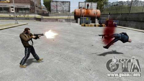 MP5 destructor para GTA 4 tercera pantalla