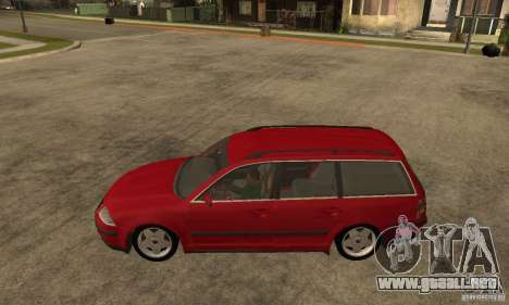 VW Passat B5+ Variant para GTA San Andreas left