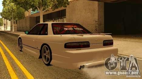 Nissan Silvia S13 MyGame Drift Team para GTA San Andreas left