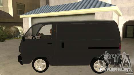 Suzuki Carry Blind Van 1.3 1998 para GTA San Andreas left