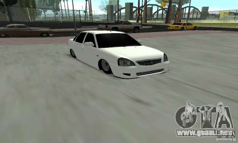 Lada Priora Low para GTA San Andreas left