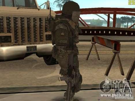 Luchar contra los soldados de CoD: Mw2 para GTA San Andreas sucesivamente de pantalla