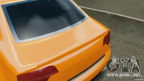 Audi RS4 EmreAKIN Edition para GTA 4 ruedas