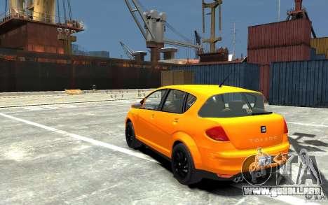 Seat Toledo para GTA 4 Vista posterior izquierda