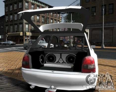 Opel Corsa B Tuning para GTA 4 left