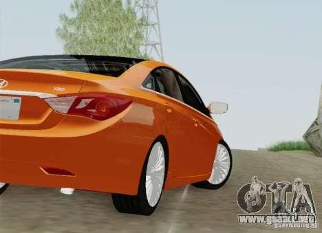Hyundai Sonata 2012 para las ruedas de GTA San Andreas