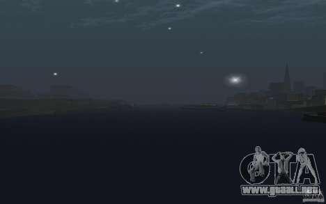 HD Water v4 Final para GTA San Andreas sucesivamente de pantalla
