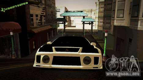 Mitsubishi Lancer Evolution 6 para GTA San Andreas left
