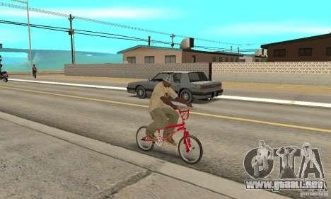 Noxon Jump Bmx para la visión correcta GTA San Andreas