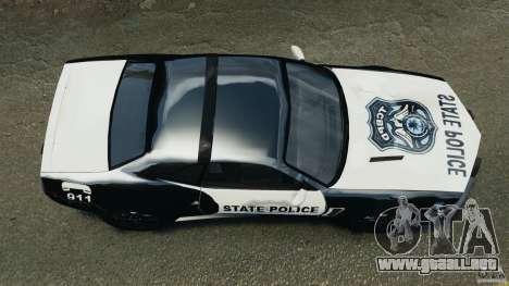 NFSOL State Police Car para GTA 4 visión correcta