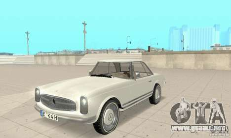 Mercedes-Benz 280SL (brillante) para GTA San Andreas