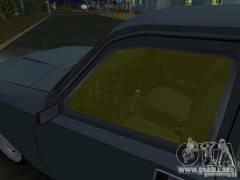 GAZ M24-02 para GTA San Andreas vista hacia atrás