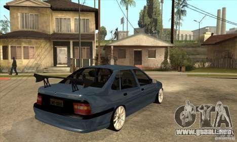 Opel Vectra A GSiTuning para la visión correcta GTA San Andreas