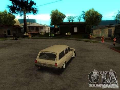 GAZ Volga 310221 Wagon para la visión correcta GTA San Andreas