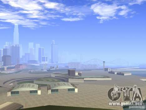 BM Timecyc v1.1 Real Sky para GTA San Andreas segunda pantalla