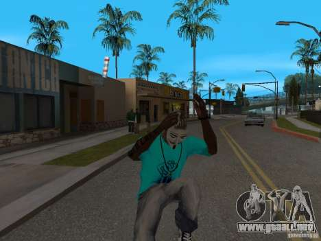 Máscara de Guy Fawkes para GTA San Andreas tercera pantalla