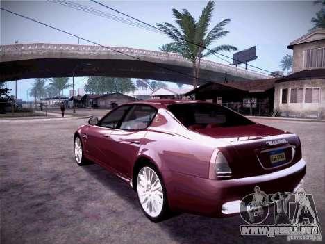 Maserati Quattroporte 2010 para la visión correcta GTA San Andreas