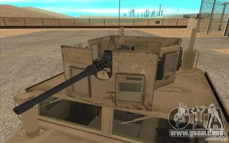 Hummer H1 Military HumVee para la visión correcta GTA San Andreas