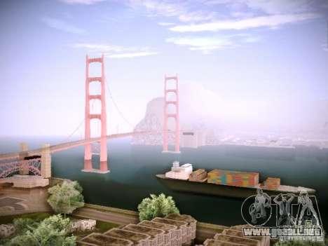 New ENBSeries para GTA San Andreas quinta pantalla