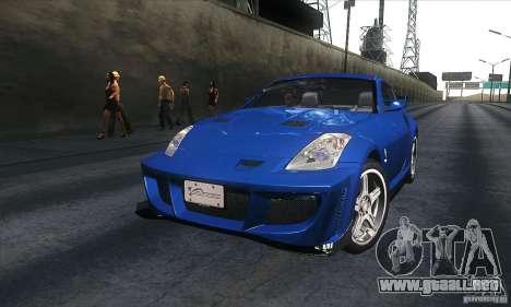 Nissan 350Z Varis para GTA San Andreas