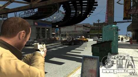 Uzi Skin para GTA 4 segundos de pantalla
