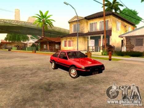 Toyota Corolla Carib AE 86 para GTA San Andreas