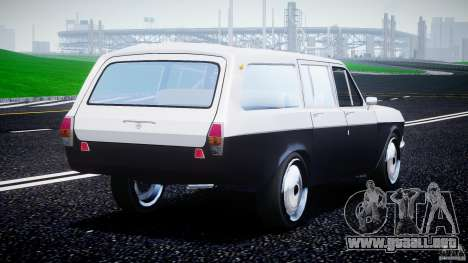 GAZ 24-12 1986-1994 Stock Edition v2.2 para GTA 4 Vista posterior izquierda